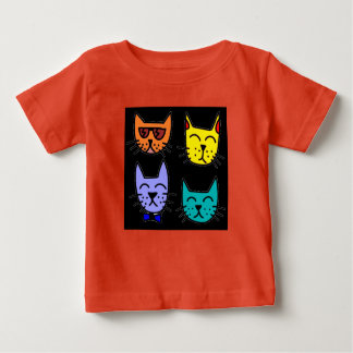 Cool Cats Baby T-Shirt