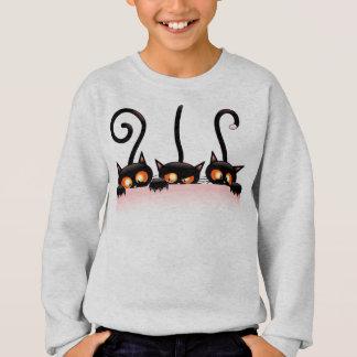 Cool cats hiding Swaeatshirt Sweatshirt