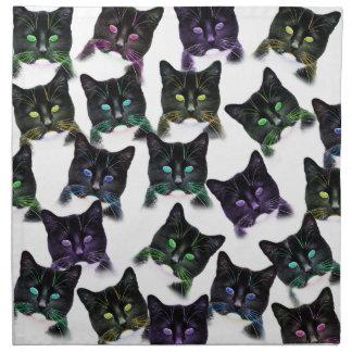 Cool Cats Napkin