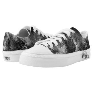 Cool Chalk Print -  Low-Top Sneakers