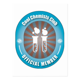 Cool Chemists Club Postcard