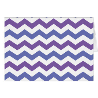 Cool chevron card (landscape)