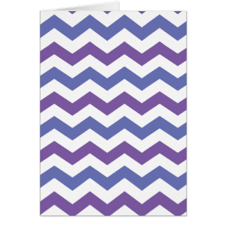 Cool chevron card (portrait)