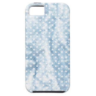 Cool Chic Retro Crinkled American Stars iPhone 5 Cover