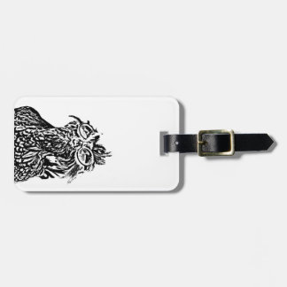 cool chick luggage tag