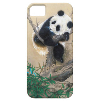 Cool chinese cute sweet fluffy panda bear tree art iPhone 5 cover