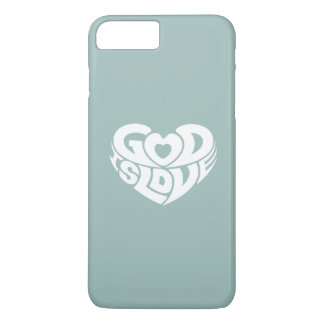Cool Christian God Is Love Bible Verse Scripture iPhone 8 Plus/7 Plus Case