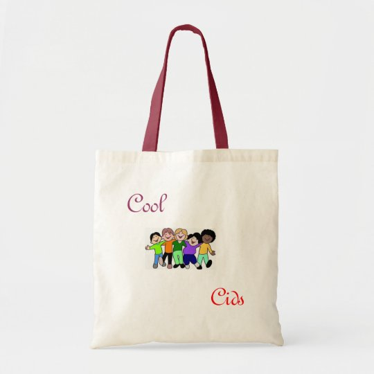 cool cids tote bag
