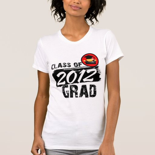 Cool Class of 2012 Grad Shirts
