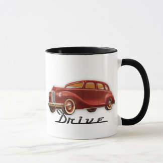 Cool Classic Car Driver Retro Auto Mug