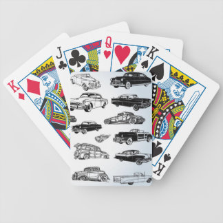 Cool Classic Cars Playing Cards