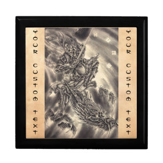 Cool classic vintage japanese demon dragon tattoo gift boxes