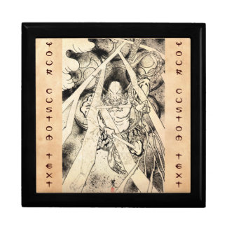 Cool classic vintage japanese demon ink tattoo gift boxes