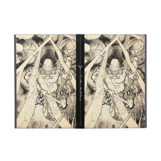 Cool classic vintage japanese demon ink tattoo cases for iPad mini