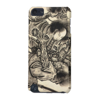 Cool classic vintage japanese samura demon fight iPod touch 5G cover
