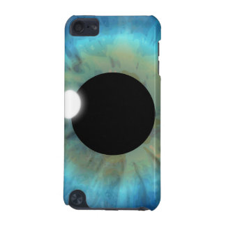 Cool Closeup Striking Blue Eye Iris Eyeball Pupil iPod Touch (5th Generation) Cover