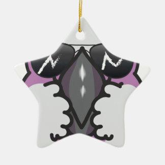 Cool cockatoo ceramic ornament