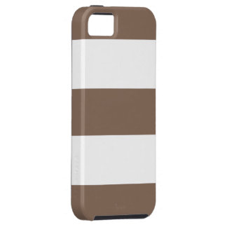 Cool Cocoa Sand & White Stripe iPhone 5 Case Gift