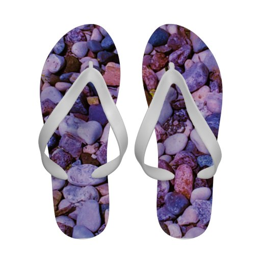 cool colored stones sandals