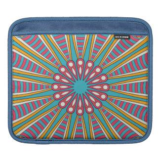 Cool colorful Boho Mandala iPad Sleeve