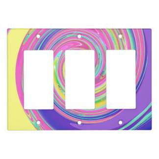 Cool Colorful Custom Light Switch Cover