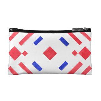 Cool Colorful Geometric Patterns Makeup Bag