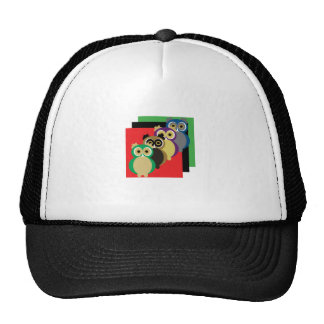 Cool Colorful Owls Trucker Hat
