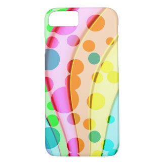 Cool Colorful Wavy Pattern iPhone 7 Case
