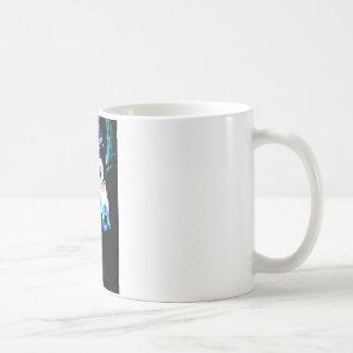 Cool Colors Carousel Horse Coffee Mug