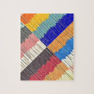 Cool Colors Collage Jigsaw Puzzle