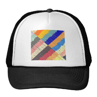 Cool Colors Collage Trucker Hat