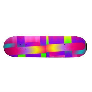 Cool Colors Skate Deck