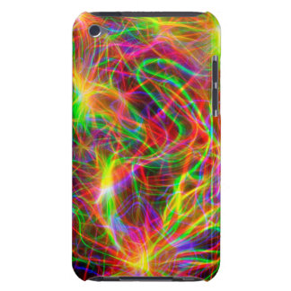 cool colourful fractal barely there iPod cases