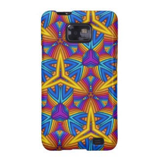Cool Colourful Kaleidoscope Patterns Samsung Galaxy S2 Case