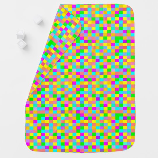 Cool colourful kid's decor baby blanket
