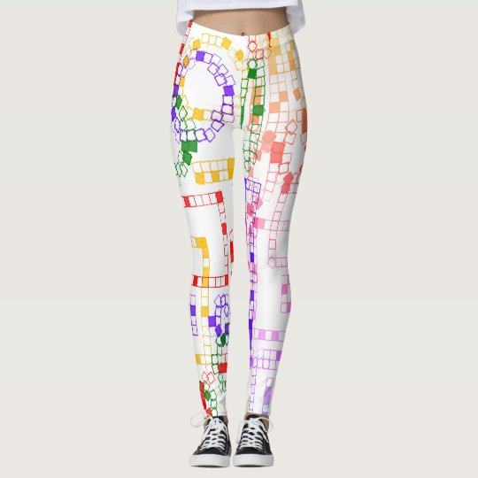 Cool Colourful Patterned Leggings