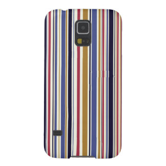 Cool colourful retro stripes vintage pattern galaxy s5 covers