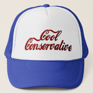 Cool Conservative Classic Look Trucker Hat