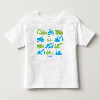 Cool Construction Transport Machines Equipment Toddler T-shirt