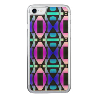 Cool Contemporary Pattern Carved iPhone 8/7 Case