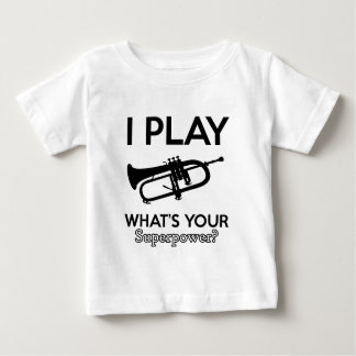 cool cornet design baby T-Shirt