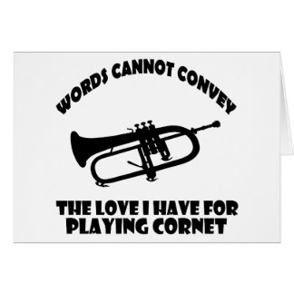 cool Cornet  designs Card