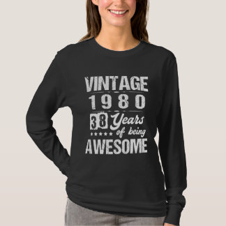 Cool Costume For 38th Birthday. T-Shirt