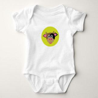 Cool cow baby bodysuit