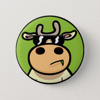 Cool Cows 2 Inch Round Button