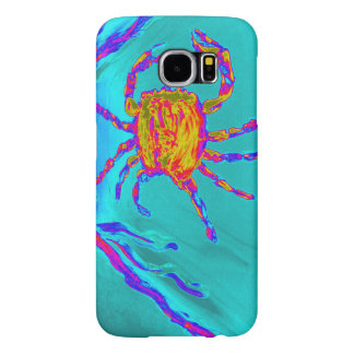 Cool Crab Undersea Art Samsung Galaxy S6 Cases