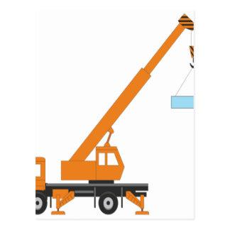Cool Crane Boy Gift Idea Postcard