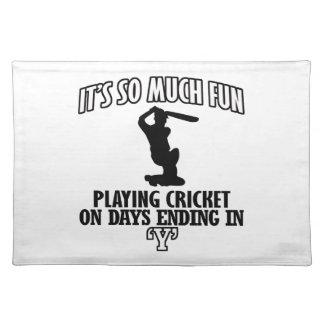 cool Cricket DESIGNS Place Mat