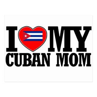 cool Cuban  mom designs Postcard
