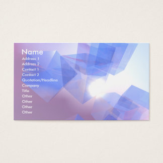 Cool Cubes - Business Business Card